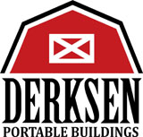 Derksen Buildings logo A+ Sheds and Carports San Antonio, Texas
