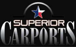 Superior Carports logo A+ Sheds and Carports San Antonio, Texas
